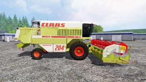 CLAAS Mega 204 für Farming Simulator 2015