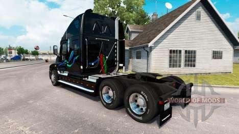Скин John Christner на Freightliner Cascadia für American Truck Simulator