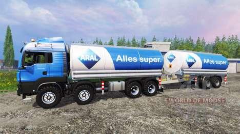 MAN TGS 41.480 Aral für Farming Simulator 2015