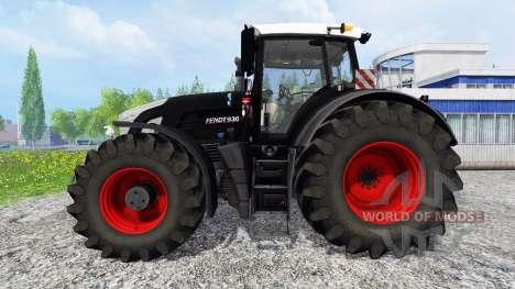 Fendt 936 Vario [black beauty washable] pour Farming Simulator 2015