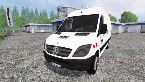 Mercedes-Benz Sprinter 311 CDI pour Farming Simulator 2015