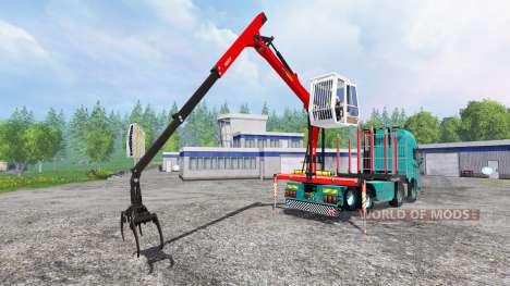 Volvo FH16 750 [forest] für Farming Simulator 2015