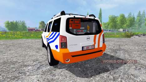 Nissan Pathfinder [federal police] pour Farming Simulator 2015