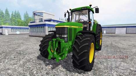 John Deere 7810 FL [washable] v3.0 pour Farming Simulator 2015