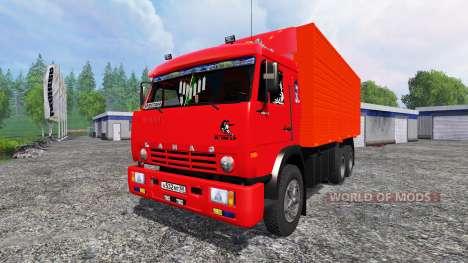 KamAZ-53212 [rot] für Farming Simulator 2015