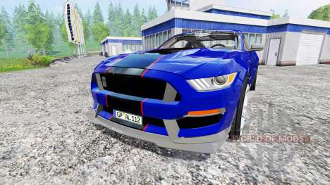 Ford Mustang GT pour Farming Simulator 2015