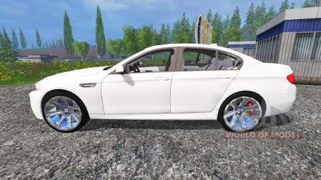 BMW M5 (F10) 2011 für Farming Simulator 2015