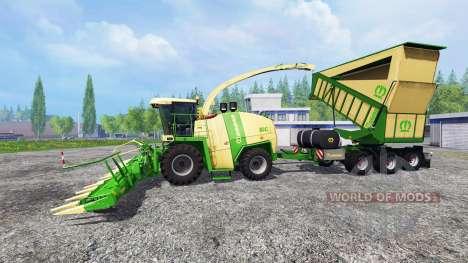 Krone Big X 1100 pour Farming Simulator 2015
