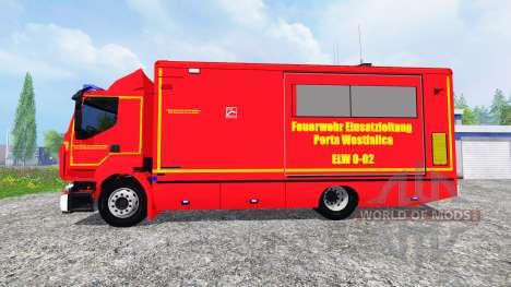 Renault Premium Porta Westfalica ELW für Farming Simulator 2015