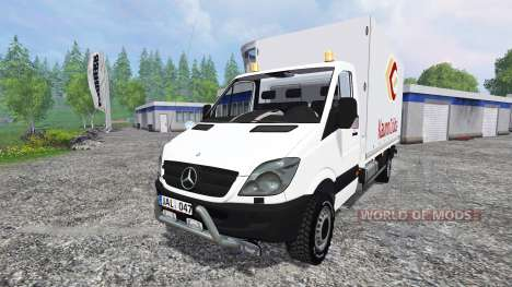 Mercedes-Benz Sprinter pour Farming Simulator 2015