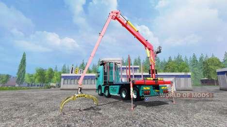 Volvo FH [forest] pour Farming Simulator 2015