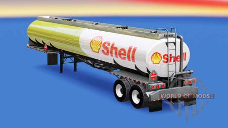 La peau Shell pour réservoir de carburant pour American Truck Simulator