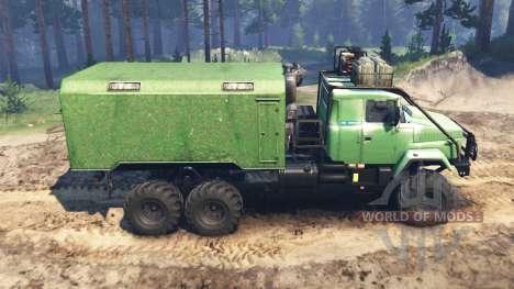 KRAZ-63221 für Spin Tires
