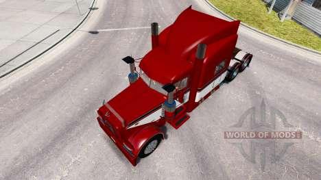 """""""Red Baron"""" skin für den truck-Peterbilt 389 für American Truck Simulator"""