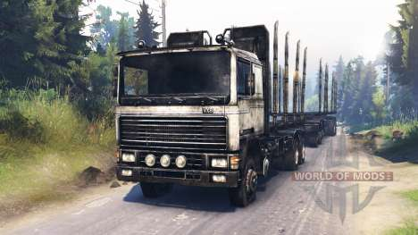 Volvo FL pour Spin Tires