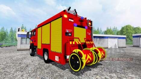 MAN TGM Feuerwehr für Farming Simulator 2015
