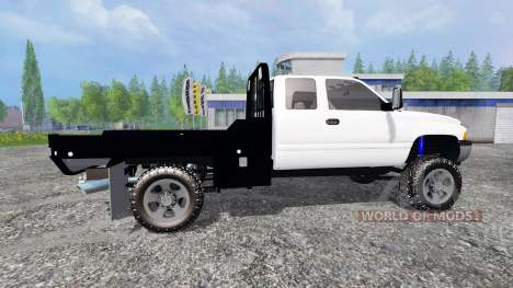 Dodge Ram 2500 [flatbed] pour Farming Simulator 2015