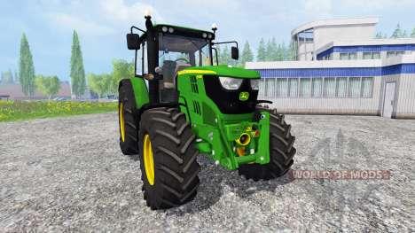 John Deere 6115M pour Farming Simulator 2015