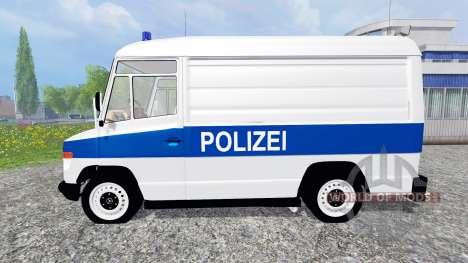 Mercedes-Benz Vario Polizei pour Farming Simulator 2015