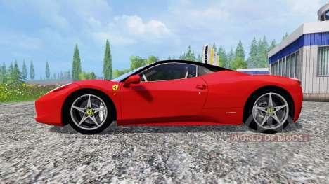Ferrari 458 Italia pour Farming Simulator 2015