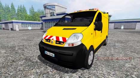 Renault Trafic [werkstattwagen] pour Farming Simulator 2015