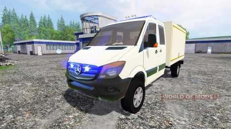 Mercedes-Benz Sprinter Ambulance pour Farming Simulator 2015