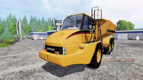 Caterpillar 725A [dump] v2.5 für Farming Simulator 2015
