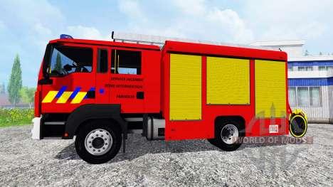MAN TGM Feuerwehr pour Farming Simulator 2015