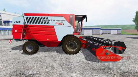 Massey Ferguson 7278 pour Farming Simulator 2015