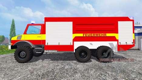 Mercedes-Benz Unimog U1300L [feuerwehr] pour Farming Simulator 2015