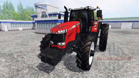 Massey Ferguson 8737 [row crops] für Farming Simulator 2015