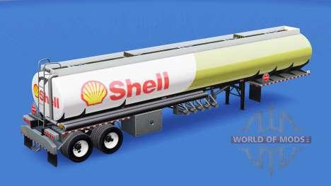Haut Schale für tank für American Truck Simulator