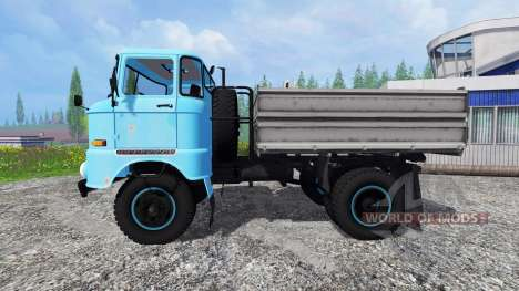 IFA W50 [bleu] pour Farming Simulator 2015