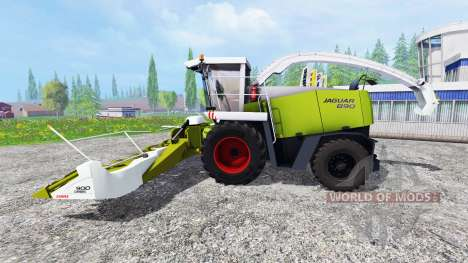 CLAAS Jaguar 890 pour Farming Simulator 2015