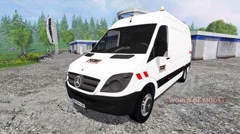 Mercedes-Benz Sprinter [pack] pour Farming Simulator 2015