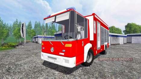 Mercedes-Benz Econic Feuerwehr pour Farming Simulator 2015