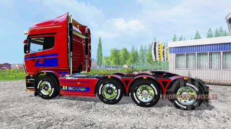 Scania R560 8x4 pour Farming Simulator 2015
