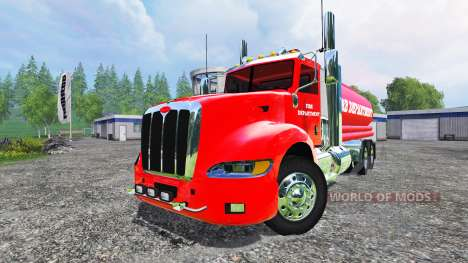 Peterbilt 387 Fire Department für Farming Simulator 2015