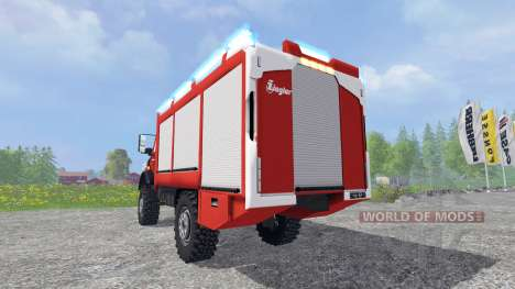Mercedes-Benz Unimog U5023 [pack] pour Farming Simulator 2015