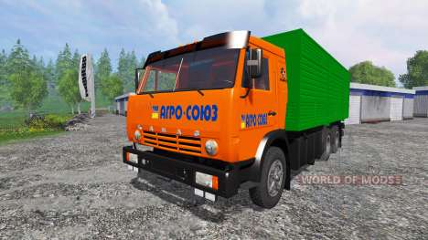 KamAZ-53212 [orange] für Farming Simulator 2015