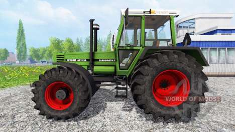 Fendt Favorit 615 LSA Turbomatic pour Farming Simulator 2015
