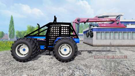 Ford 8340 [forestry] pour Farming Simulator 2015