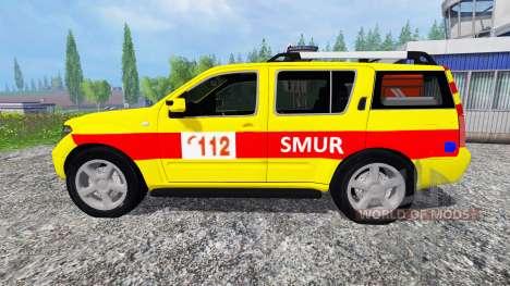 Nissan Pathfinder [SMUR] für Farming Simulator 2015