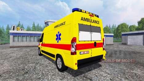 Peugeot Boxer [ambulance] für Farming Simulator 2015