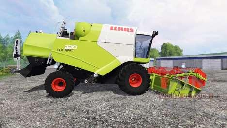 CLAAS Tucano 320 für Farming Simulator 2015