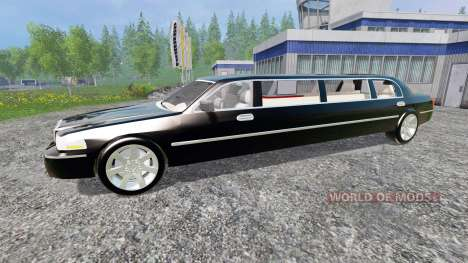 Lincoln Town Car Limousine für Farming Simulator 2015