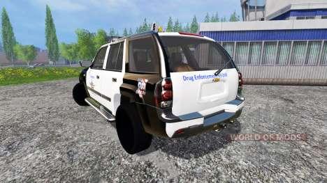 Chevrolet TrailBlazer Police K9 pour Farming Simulator 2015