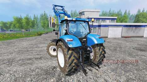 New Holland T6.140 für Farming Simulator 2015