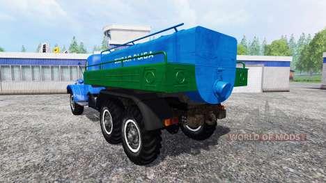 ZIL-157 [live-Fisch] für Farming Simulator 2015