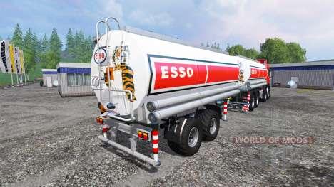 MAN TGS 41.480 ESSO für Farming Simulator 2015